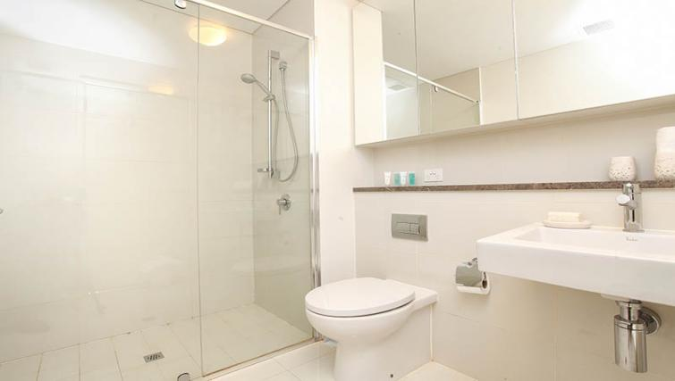 Bathroom shot at Astra Elevation Apartments - Citybase Apartments