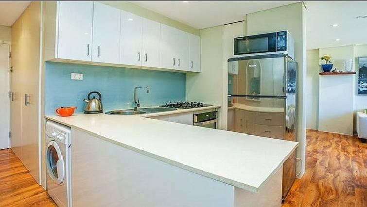 Kitchen at the High Street Apartments - Citybase Apartments