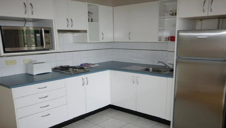 Smart kitchen at the High Street Apartments - Citybase Apartments