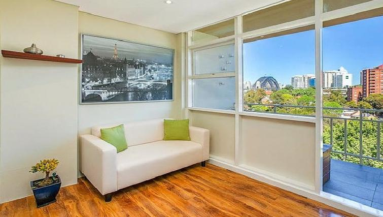 Living room at the High Street Apartments - Citybase Apartments