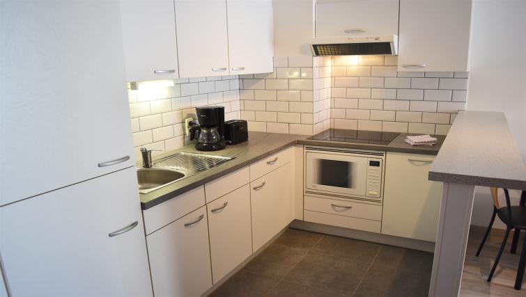 Kitchen at Europark Apartments - Citybase Apartments