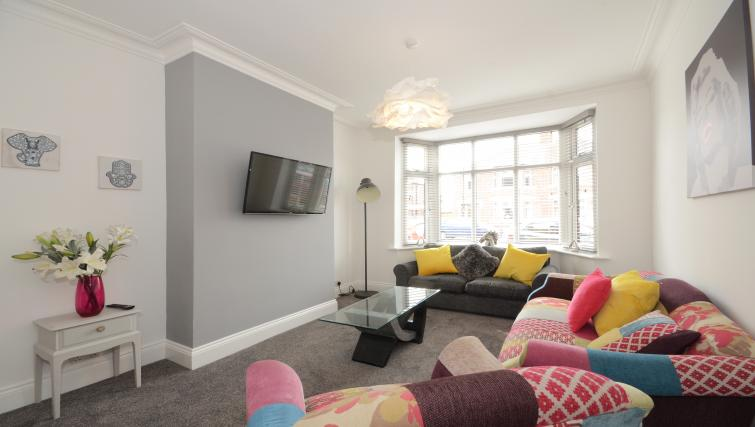 Living area at York Boutique House - Citybase Apartments