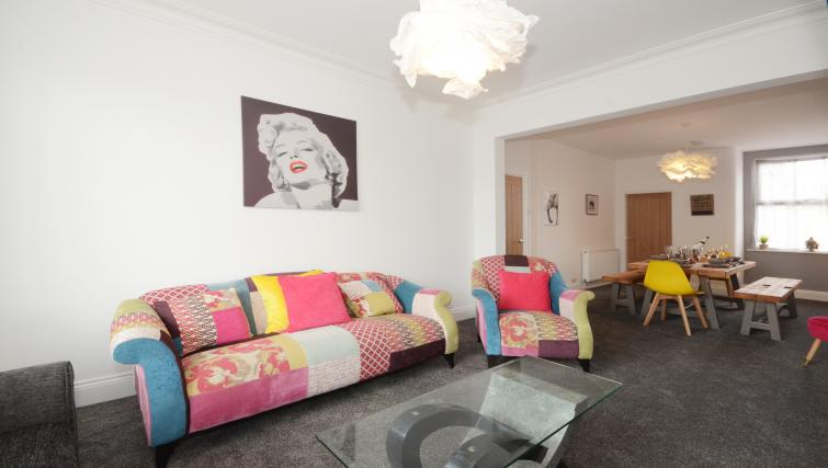 Lounge area at York Boutique House - Citybase Apartments