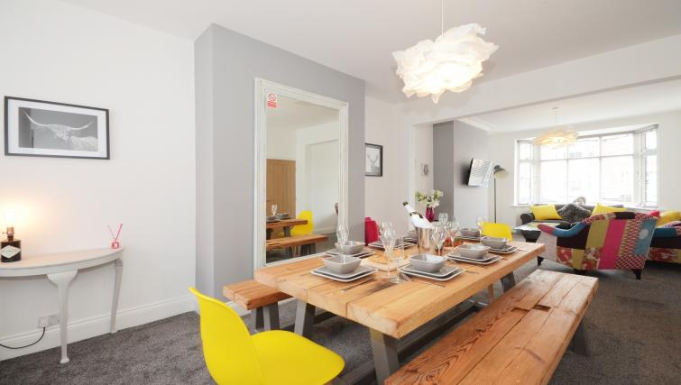 Dining table at York Boutique House - Citybase Apartments