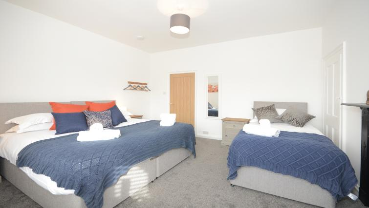 Spacious bedroom at York Boutique House - Citybase Apartments
