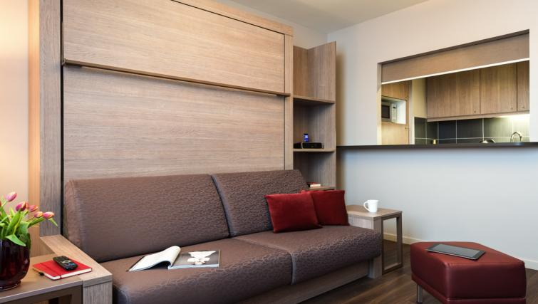Spacious Living Room at Adagio Liverpool City Centre Apartments - Citybase Apartments