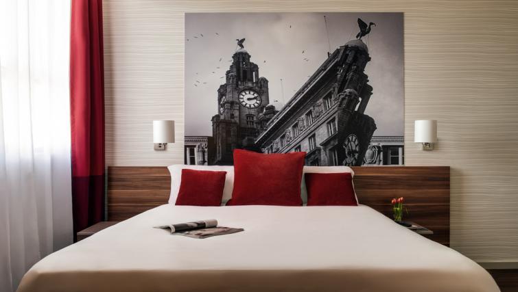 Bedroom at Adagio Liverpool City Centre Apartments - Citybase Apartments