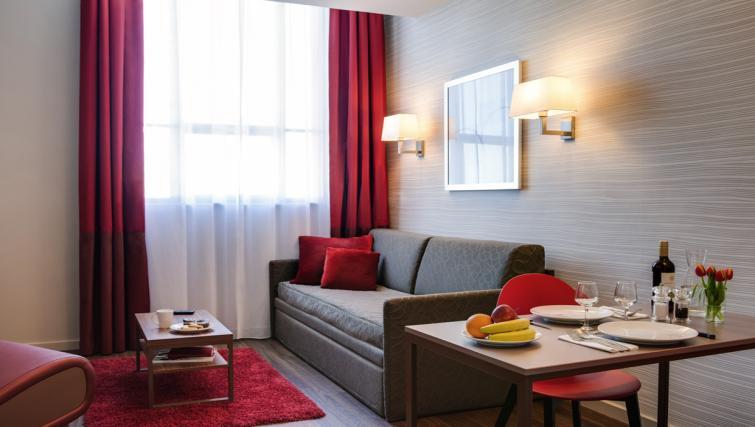 Living area at Adagio Liverpool City Centre Apartments - Citybase Apartments