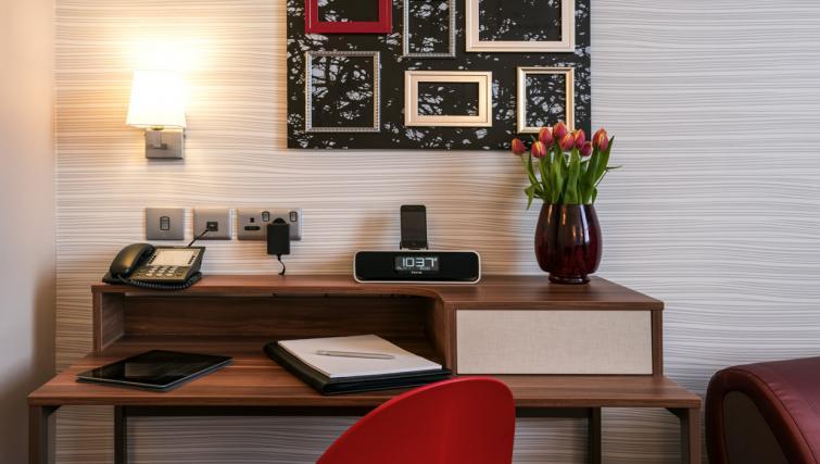 Desk at Adagio Liverpool City Centre Apartments - Citybase Apartments