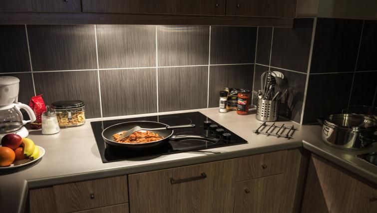 Kitchen at Adagio Liverpool City Centre Apartments - Citybase Apartments
