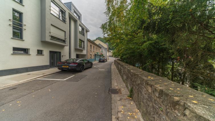 Exterior of Rue du Soleil Apartment - Citybase Apartments