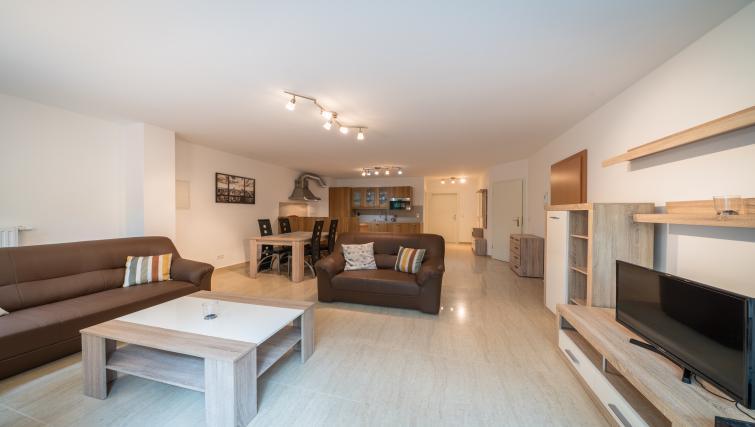 Living room at Rue du Soleil Apartment - Citybase Apartments