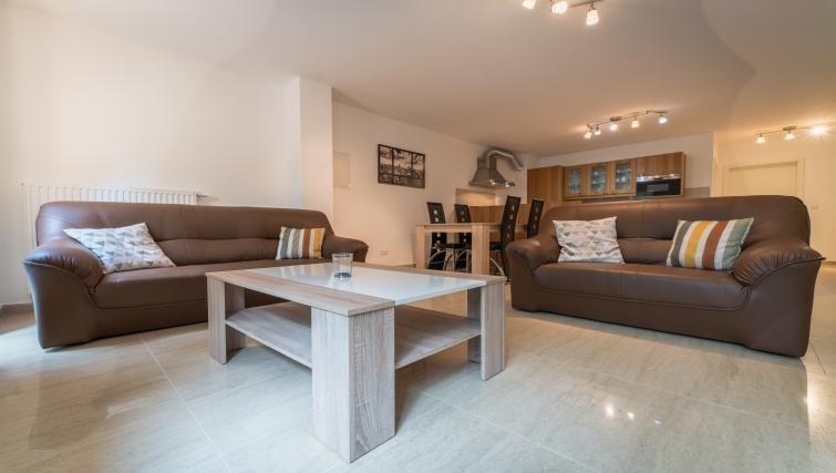 Table at Rue du Soleil Apartment - Citybase Apartments