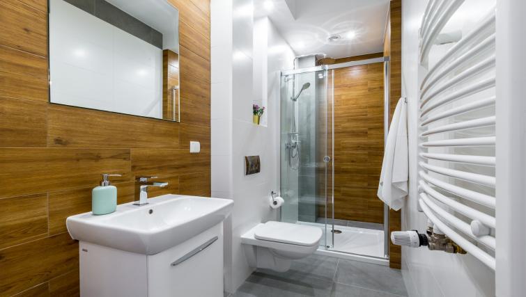 Bathroom at Ariańska Residence - Citybase Apartments