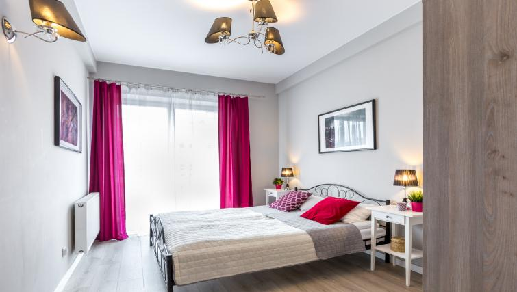 Modern room at Ariańska Residence - Citybase Apartments