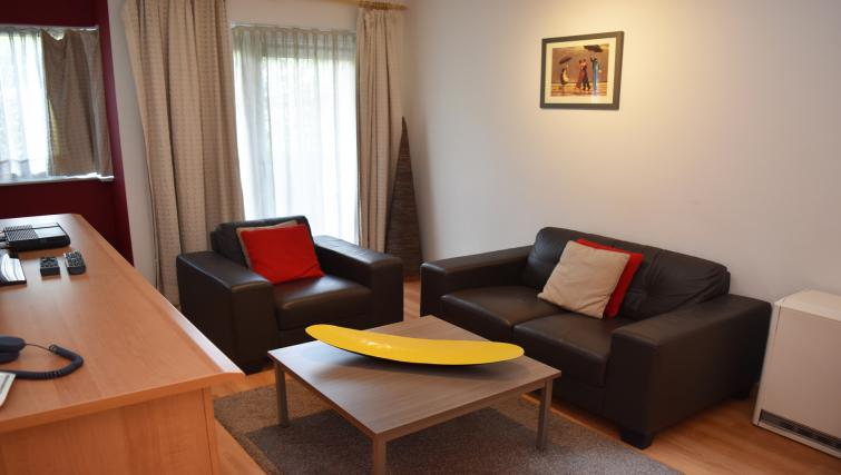Living room at Woluwe Gardens Apartments - Citybase Apartments