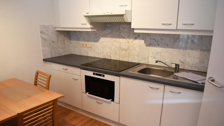 Kitchen at Woluwe Gardens Apartments - Citybase Apartments