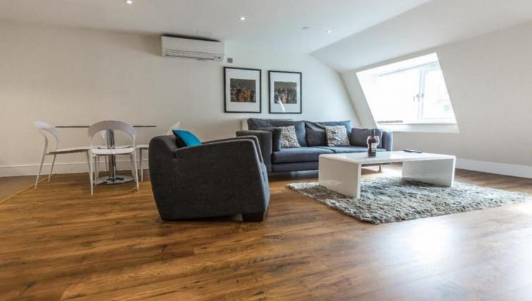Lounge at the Valet Limehouse Apartments - Citybase Apartments