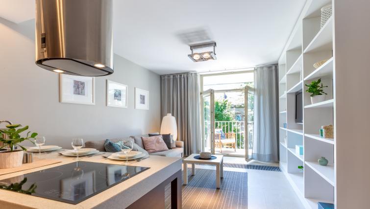 Modern interiors at Lobzowska Apartments - Citybase Apartments