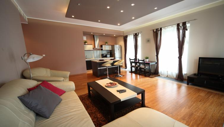 Lounge at Lobzowska Apartments - Citybase Apartments