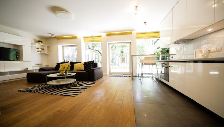 Open-plan at Lobzowska Apartments - Citybase Apartments