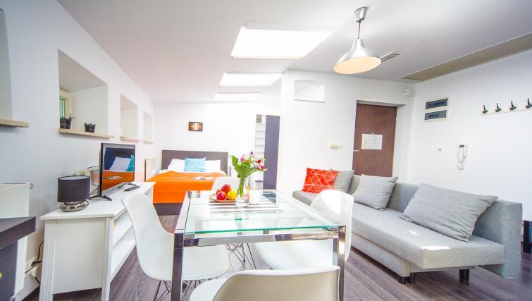 Table at Lobzowska Apartments - Citybase Apartments