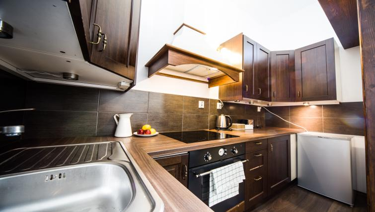 Kitchen at Lobzowska Apartments - Citybase Apartments