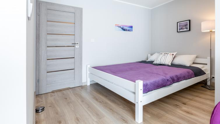 Bedroom 2 at Vistula and Wawel Apartments - Citybase Apartments