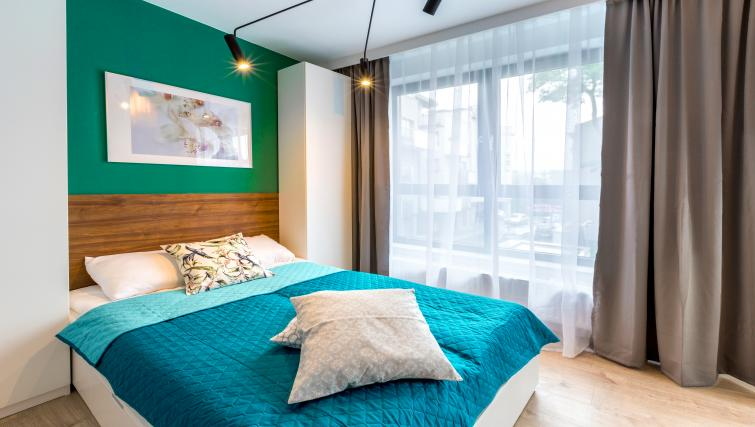 Bedroom at Vistula and Wawel Apartments - Citybase Apartments