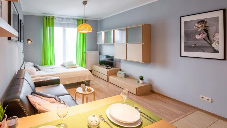 Open-plan at Angel City Apartments - Citybase Apartments