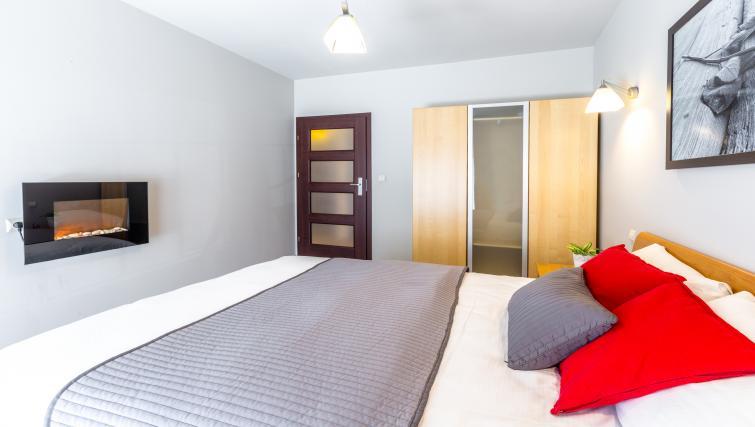 Bedroom at Angel City Apartments - Citybase Apartments