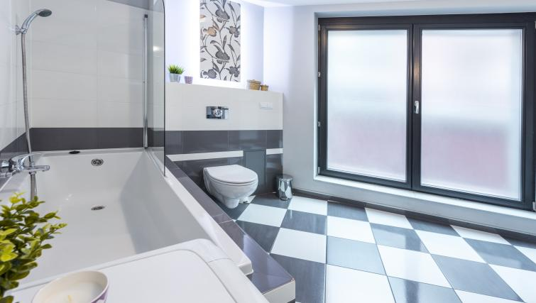 Bathroom at Angel City Apartments - Citybase Apartments