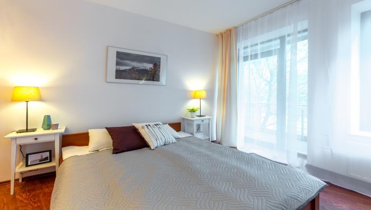 Bedroom at Kazimierza Wielkiego Apartments - Citybase Apartments