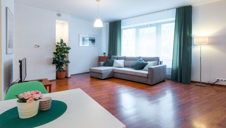 Wooden floors at Kazimierza Wielkiego Apartments - Citybase Apartments