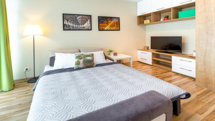 Bedroom at Kazimierz Apartments - Citybase Apartments
