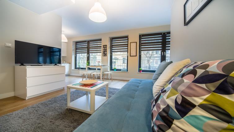 TV at Kazimierz Apartments - Citybase Apartments