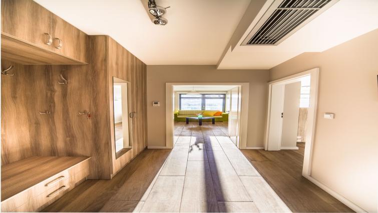 Hallway at Kazimierz Apartments - Citybase Apartments