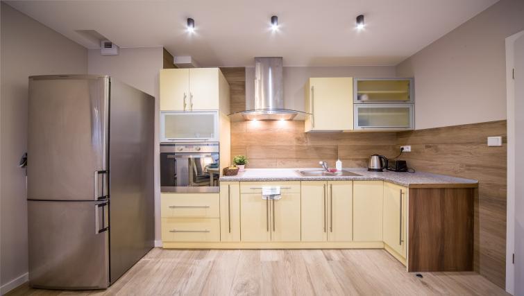 Kitchen at Kazimierz Apartments - Citybase Apartments