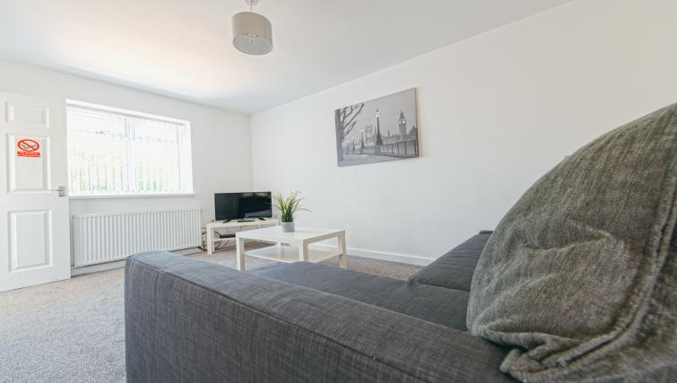 TV at Sutton Muse Serviced Apartment - Citybase Apartments
