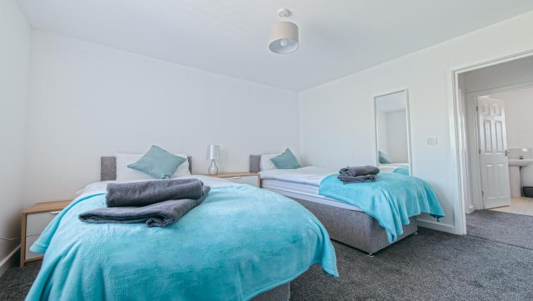 Bedroom at Sutton Muse Serviced Apartment - Citybase Apartments