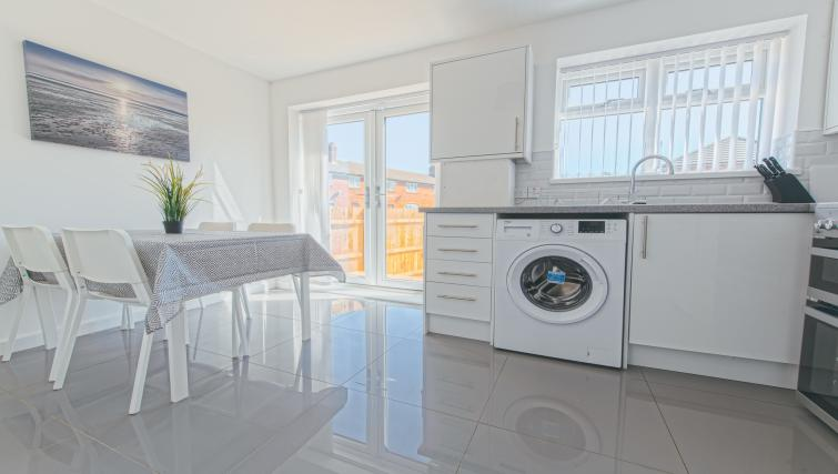 Kitchen at the Sutton Vale Serviced Apartment - Citybase Apartments