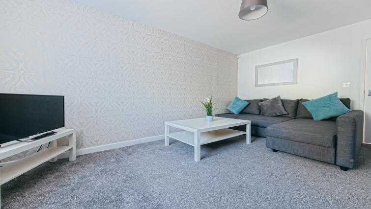 Lounge at the Sutton Vale Serviced Apartment - Citybase Apartments