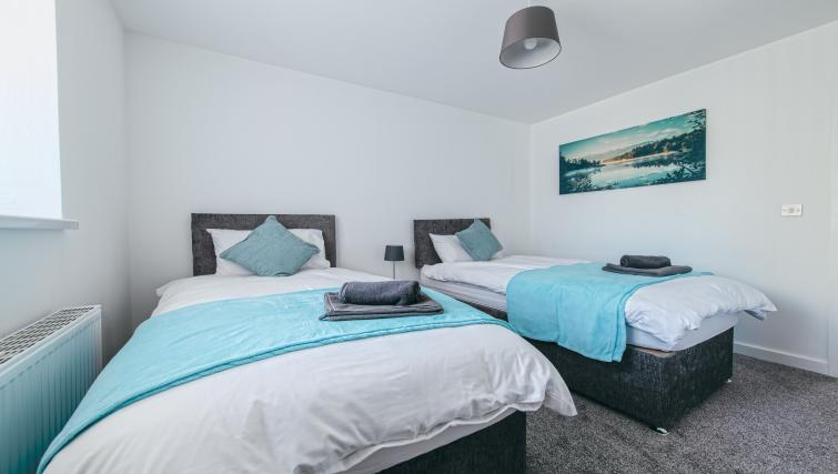 Bedroom at the Sutton Vale Serviced Apartment - Citybase Apartments