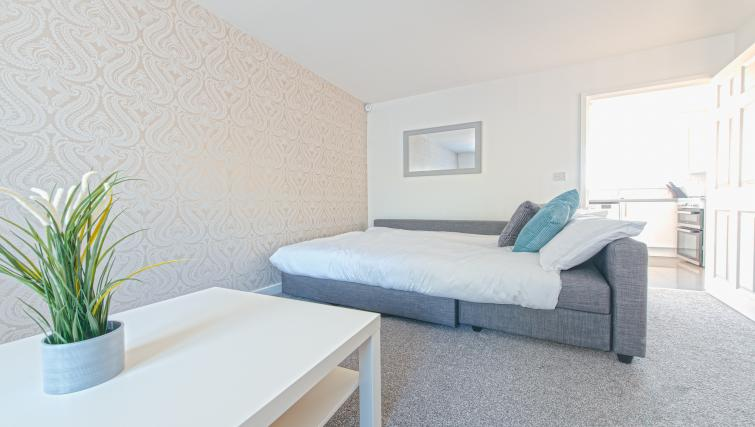 Cosy bed at the Sutton Vale Serviced Apartment - Citybase Apartments