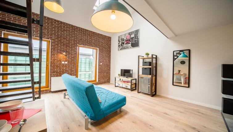 Sofa at Old Town Apartments - Citybase Apartments