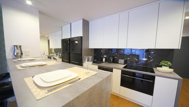 Kitchen at Old Town Apartments - Citybase Apartments