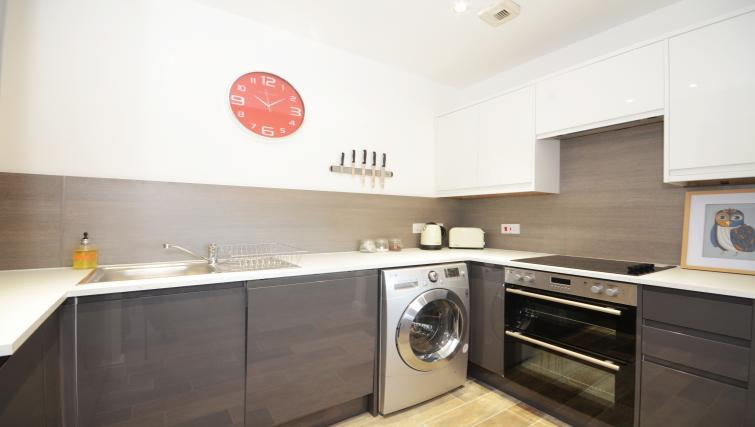 Kitchen at The Station Apartment - Citybase Apartments
