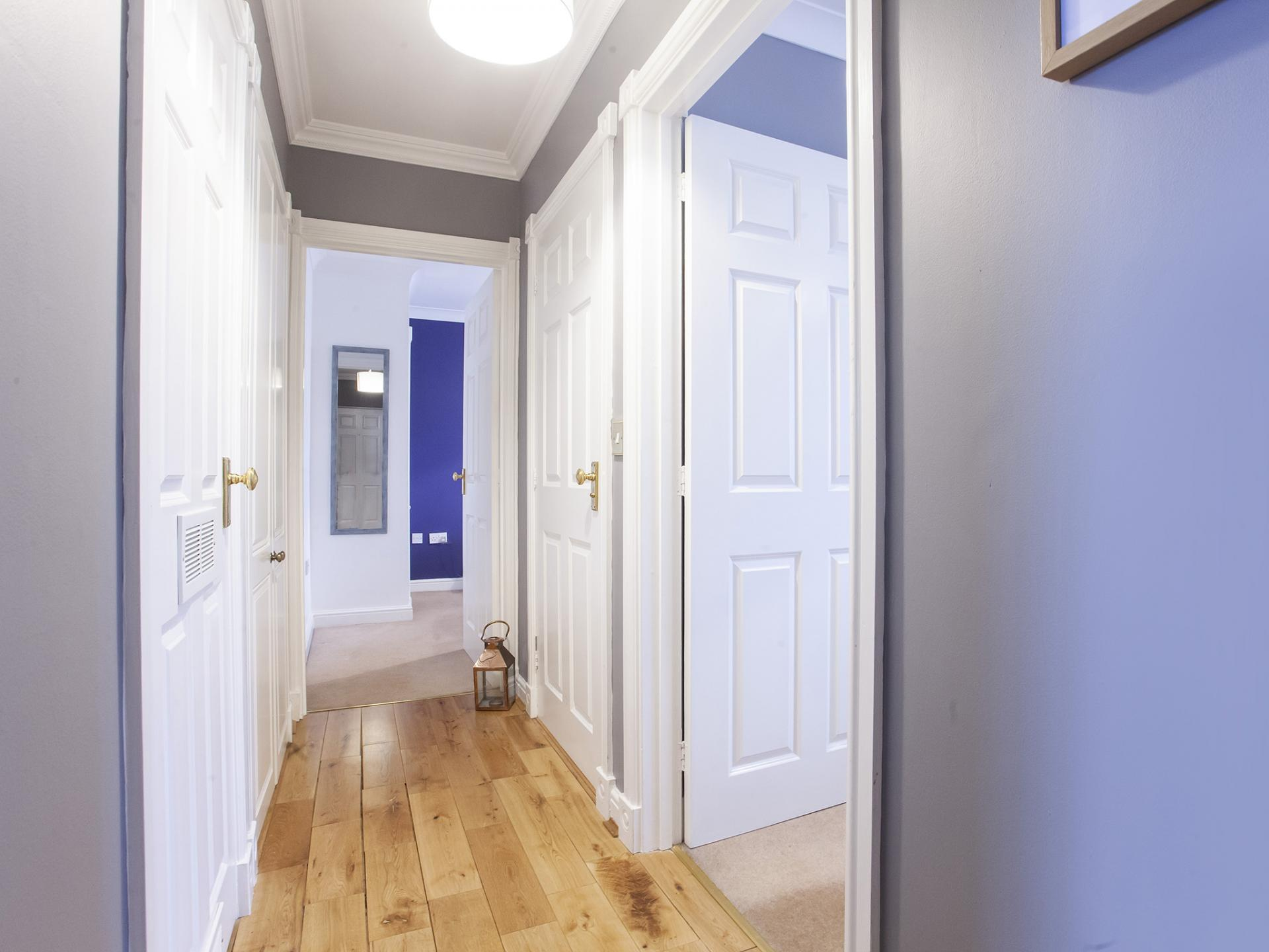 Hallway at The Station apartment, Centre, York - Citybase Apartments