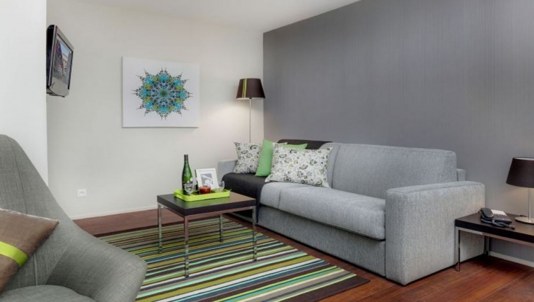 Living area in Citadines Part-Dieu Apartments - Citybase Apartments