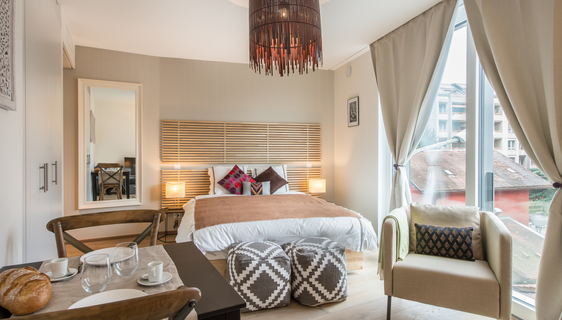 Moroccan style at the Noirettes Studios - Citybase Apartments